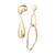Yhpup-De-Luxe-Nouvelle-Mode-Asym-trique-En-Alliage-de-Zinc-Balancent-Boucles-D-oreilles-Pour