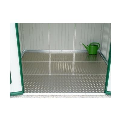 Plaque de fond Aluminium pour abri de jardin - Biohort