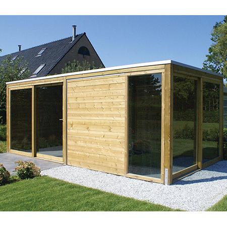 Abri de jardin en bois - Abivert Paysagiste Finistère