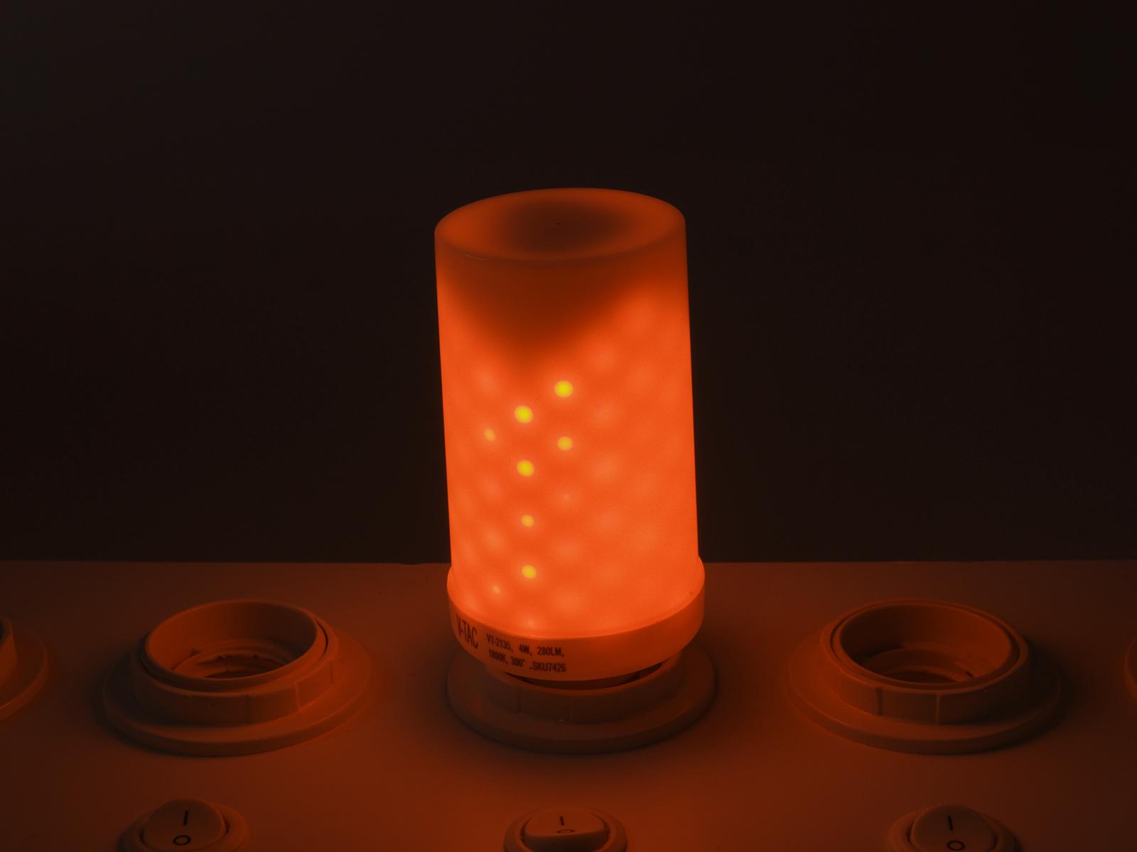 Ampoule Led Flamme 4w Effet De E27 c3ALqRj45S