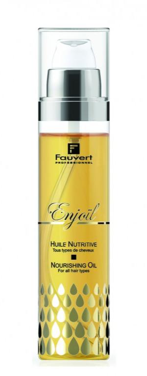 FAUVERT - Huile nutritive Enjoïl - 100 ml - Eclat et lumière
