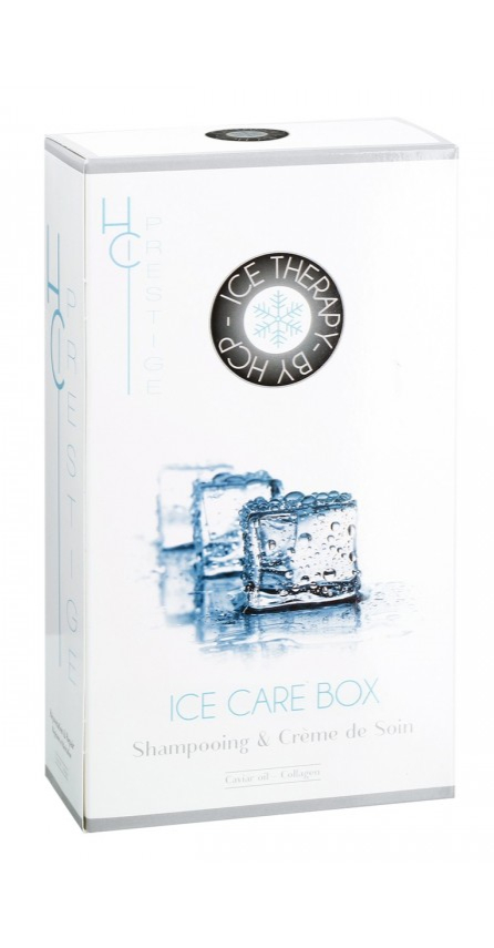 HC Prestige - Ice Therapy by HCP - Cure hydro-nutritif: shampooing et crème de soin Caviar & vitamines B5