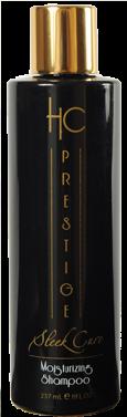 HC Prestige Moisturizing Shampoo - 237 ml - Shampooing enrichi à la kératine, au collagène naturel  et à l\'huile d\'Argan