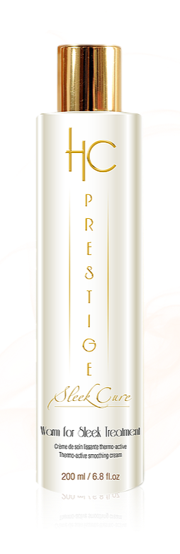 HC Prestige Warm For sleek Treatment - 118 ml - Crème thermo-active aux protéines de kératine pour un lissage parfait