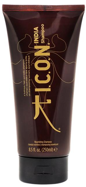 I.C.O.N. India Shampoo - 250 ml - Shampooing très moussant et fortifiant à l\'huile de Moringa et à l\'huile d\'Argan