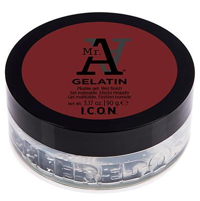 I.C.O.N MR A Gelatin - 90 g - Gel Flexible Aloé Vera - fixation forte effet mouillé