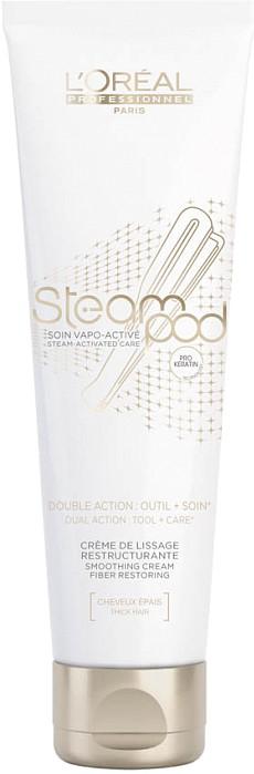 L\'Oréal Steampod Soin Vapo Active - 150 ml - Crème de lissage restructurante cheveux épais