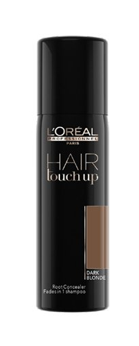 L\'Oréal Professionnel - Hair Touch Dark Blonde - 75 ml - Spray Coloration racines