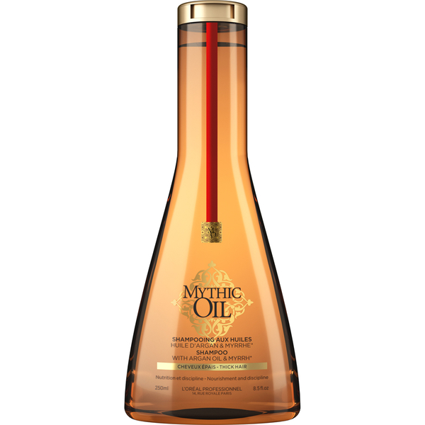 L\'Oréal Professionnel - Mythic Oil Shampoo - 250 ml - Extrême douceur - Extrait de Myrrhe