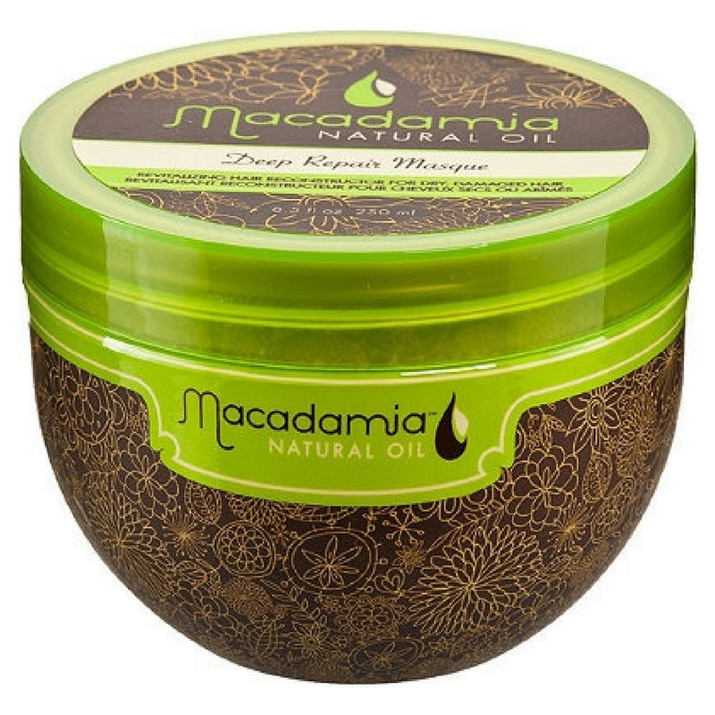 Macadamia Deep Repair Masque -  250 ml - Soin réparateur, souplesse et brillance