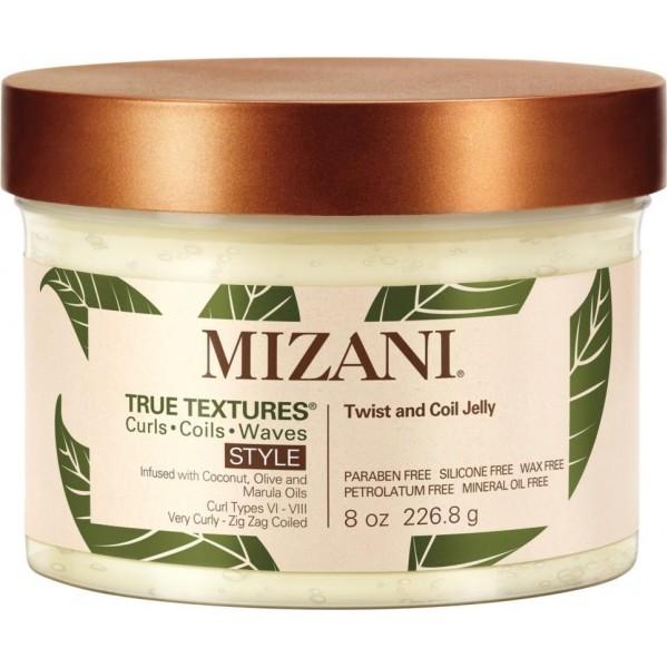 Mizani True Textures Twist & Coil Jelly - 226,8g - Gelée coiffante à l\'huile de Marula