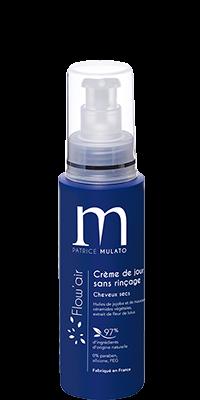Mulato Flow\'Air crème de jour sans rinçage - 125 ml - Soin coiffant A la Fleur de Lotus pour une douceur exceptionnelle