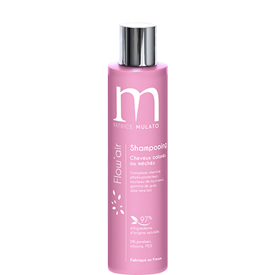Ajania - Mulato Flow Air Shampooing cheveux colorés ou méchés - 200 ml