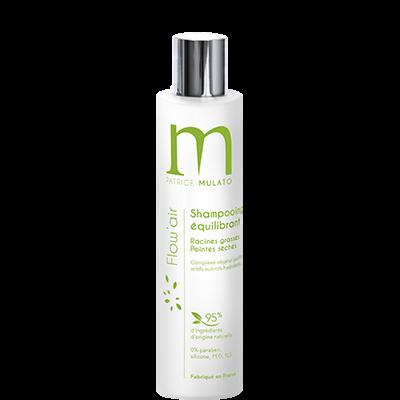 Mulato - Flow\'Air - 200ml - Shampooing équilibrant cheveux gras et pointes sèches