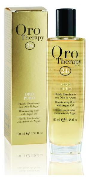 ORO Therapy 24k Argan - 100 ml - Puissant fluide embellisseur à l\'or micro-actif et huile d\'Argan