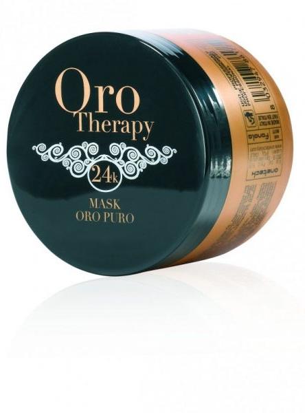 ORO Thérapy 24k Masque Argan - 300 ml - Soin éclat à l\'or Micro-actif
