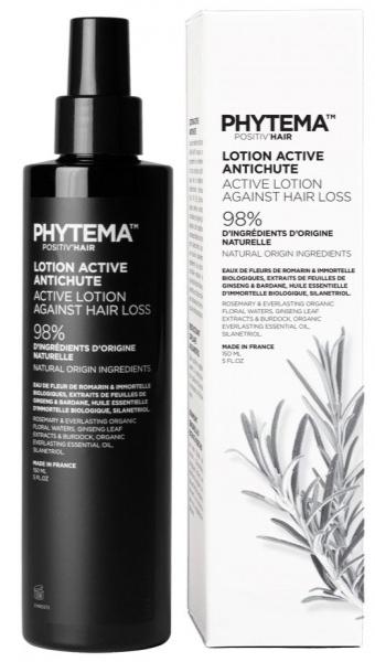 Phytema - Positiv\'hair - Lotion active bio anti-chute - 150 ml - Ginko Biloba