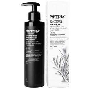 Phytema - Positiv\'hair - Shampooing bio régénérant anti-chute - 250 ml -  Gingko biloba et romarin