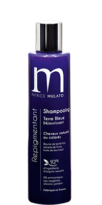 Mulato Shampooing Repigmentant Terre Bleue Reflets blonds -200 ml