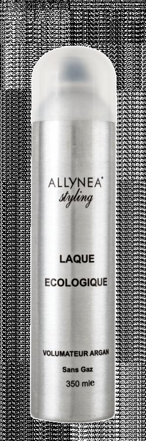 Allynea - Laque Volume Eco-Spray Sans Gaz - 350 ml - Volumateur et texturant à l\'huile d\'Argan