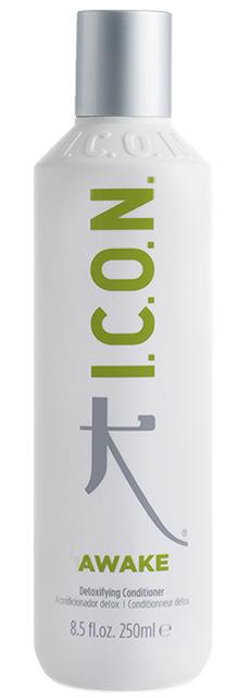 I.C.O.N AWAKE - Détoxifying Conditioner - 250 ml - Détoxifiant enrichi à l\'huile de feuille d\'Aloès