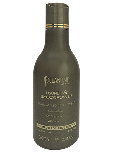 Ajania - Oceanhair - shock power - shampooing - 300 ml