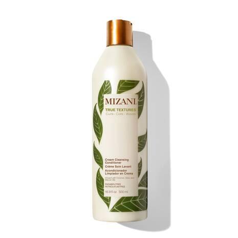 Mizani True Textures - Cream Cleansing Conditioner - 500 ml - Soin à l\'huile d\'abricot et huile de Jojoba pour des boucles superbes