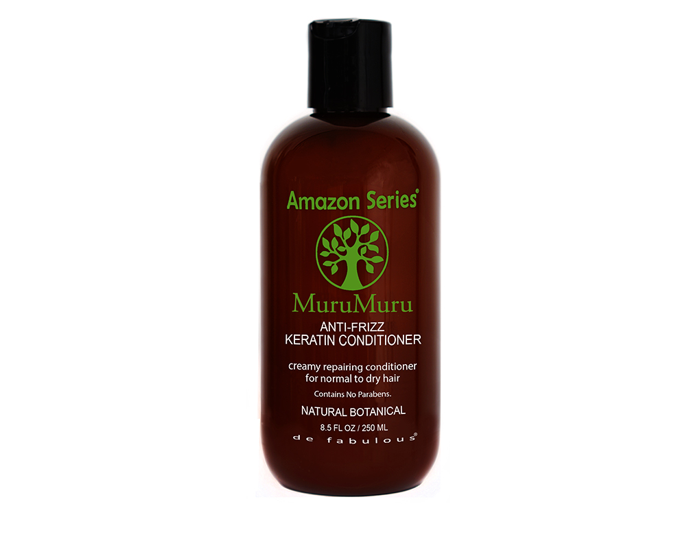 Amazon Séries MuruMuru anti-Frizz Keratin Conditioner - 250 ml - Protéines de kératine pure
