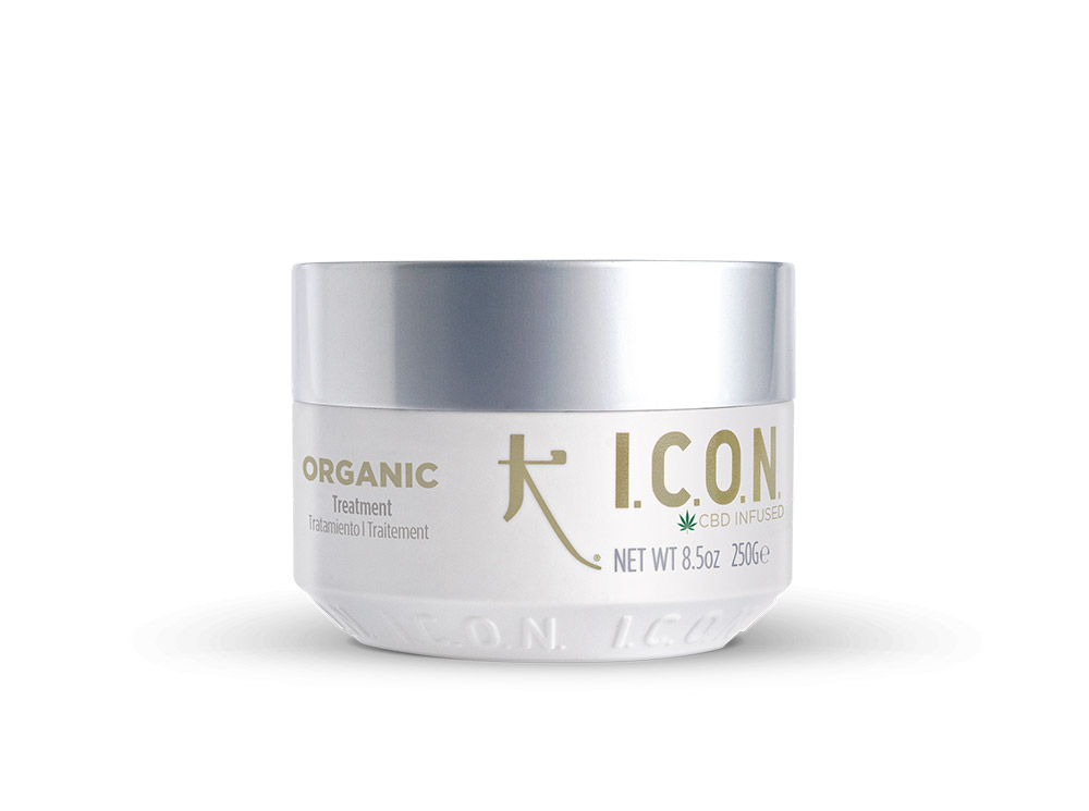 I.C.O.N Organic Treatment - CBD Infused - 250 g - Cannabidiol, rituel intense croissance