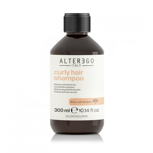ALTER EGO - Curly Hair Shampoo - 300 ml - Contrôle frisottis