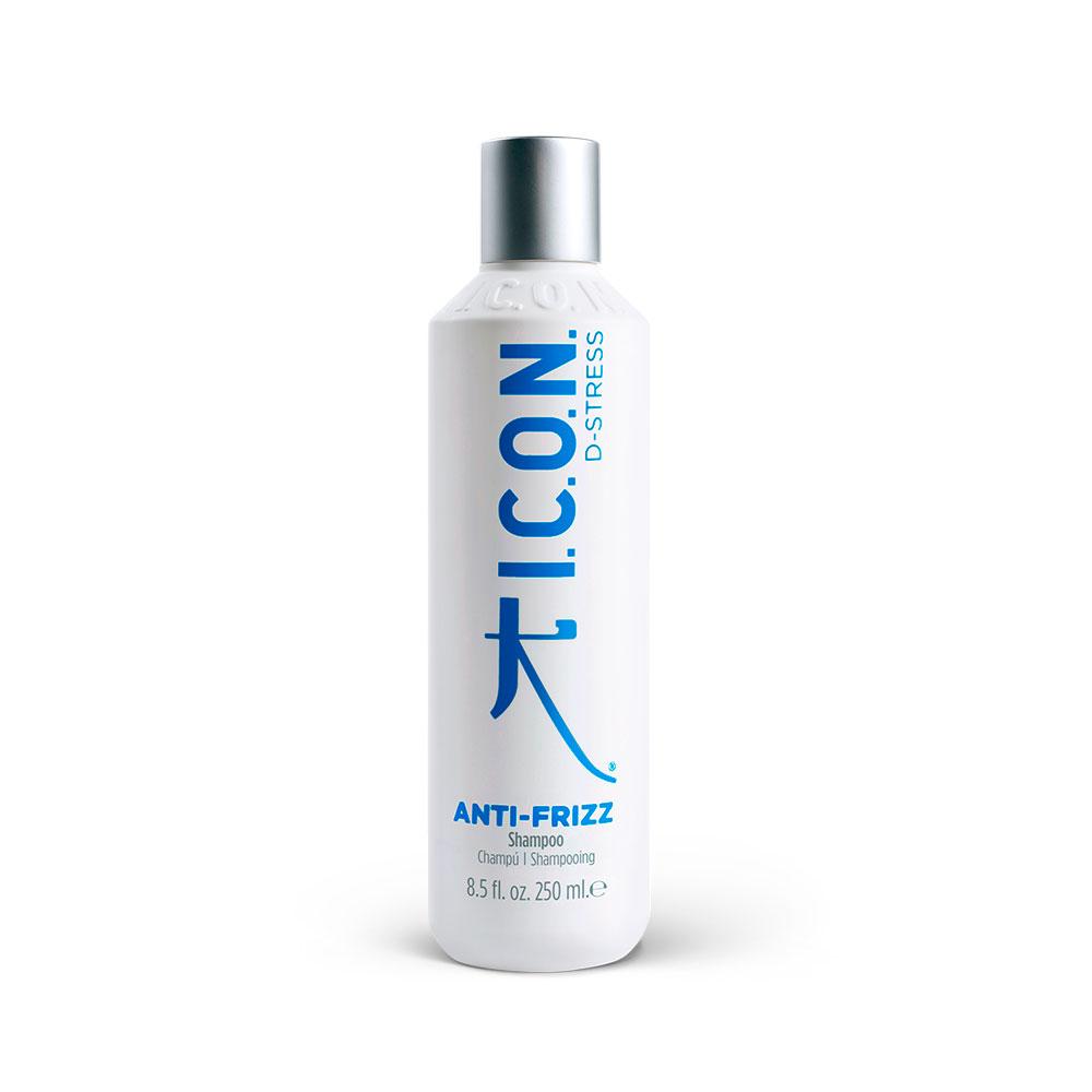 I.C.O.N D-Stress -Anti Frizz Shampoo - 250 ml - Shampooing Anti-frisottis