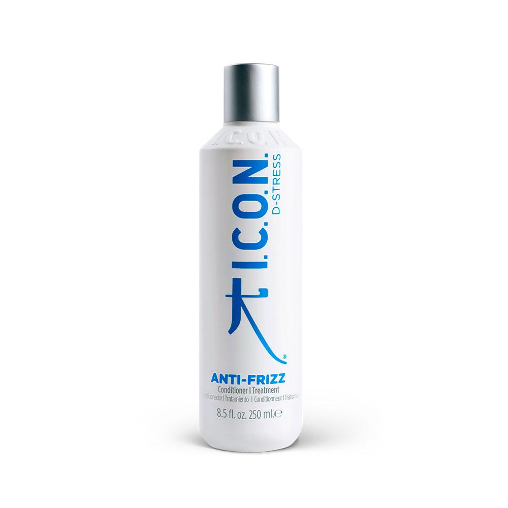 I.C.O.N D Stress - Anti Frizz - 250 ml - Conditionneur Anti-frisottis neutralise les charges négatives