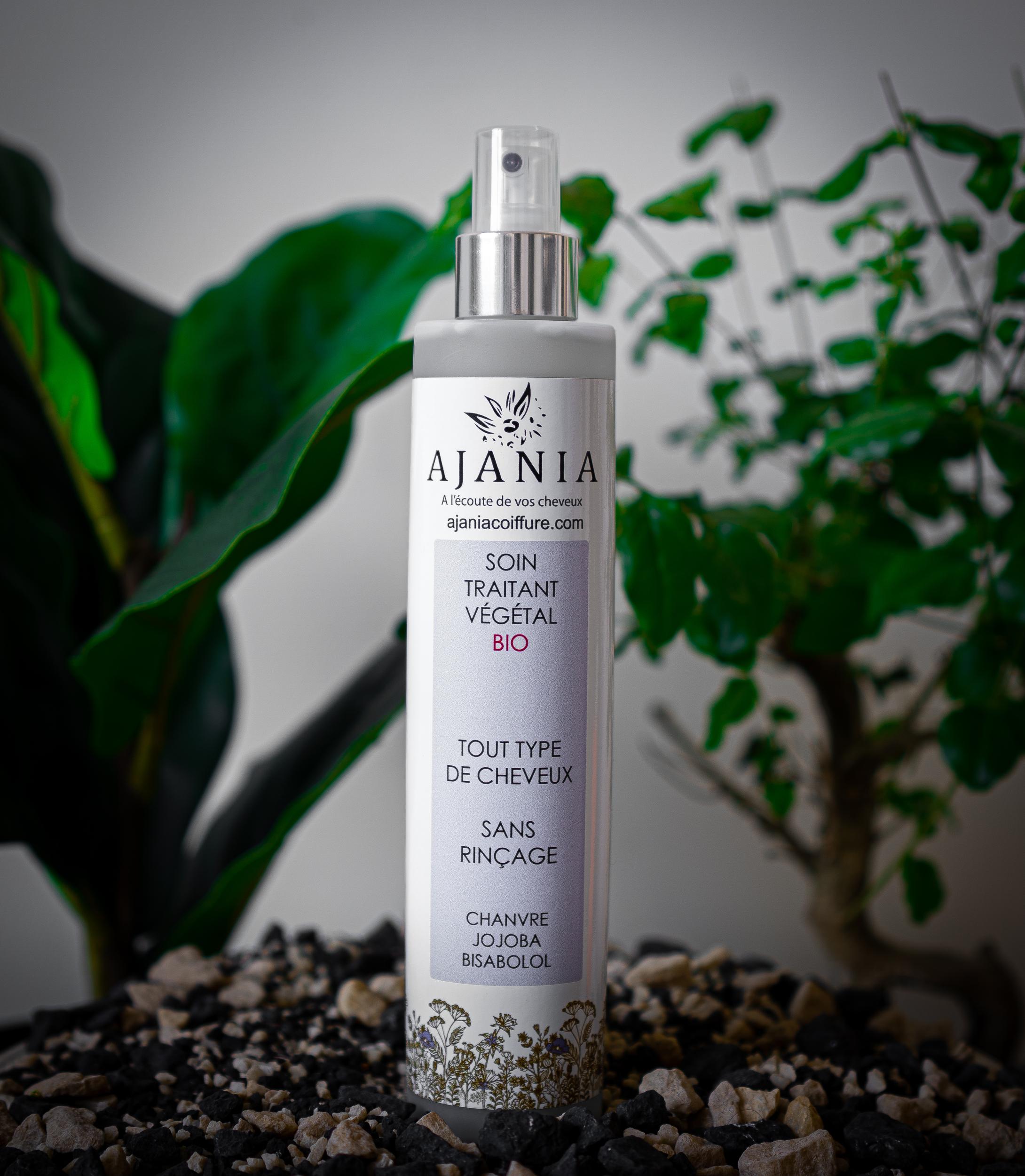 Ajania soin traitant végétal bio - 250 ml - Hydratant instantané sans rinçage huile de jojoba