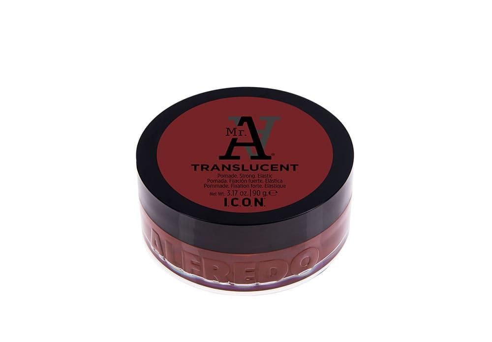 I.C.O.N MR A - Translucent - 90 g - Pommade tenue forte, brillance extrême