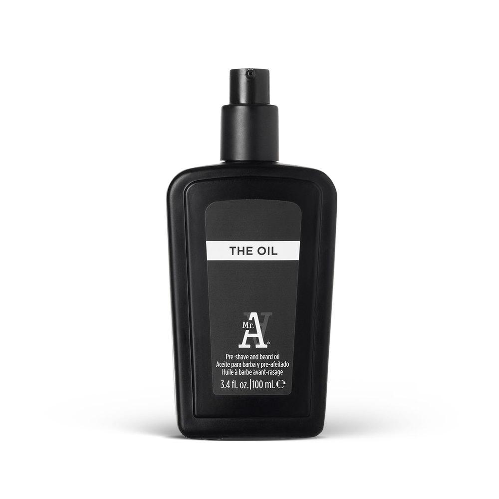 I.C.O.N MR A - The Oil - 100 ml - Huile hydratante pré-rasage et barbe - Bergamote