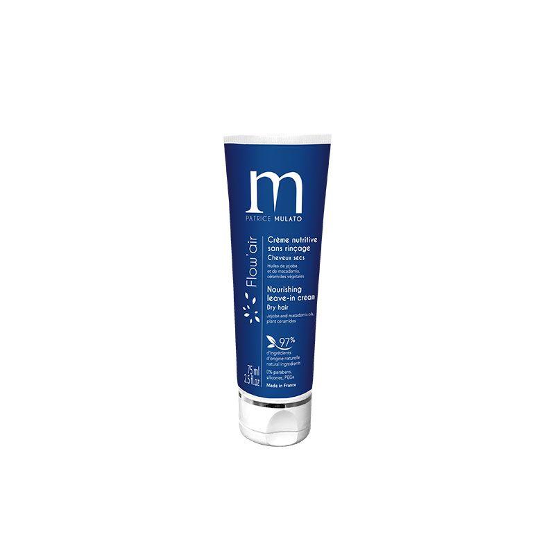 Mulato Flow\'Air crème de jour sans rinçage - 75 ml - Soin coiffant A la Fleur de Lotus pour une douceur exceptionnelle