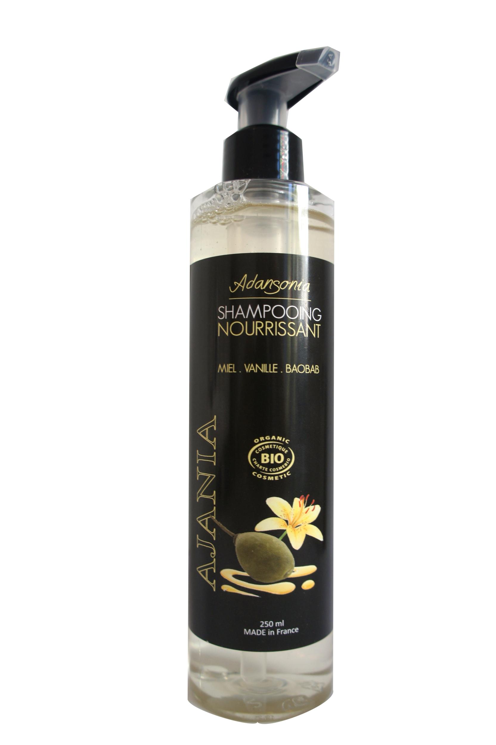 Ajania Adansonia- Repair\'Demel - Après-Shampooing bio - 250 ml - Baobab Argan Eveil des Sens