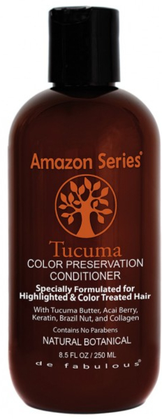 Amazon Series Tucuma Color Preservation Conditioner - 250 ml - Protection optimum couleur, beurre de Tucuma