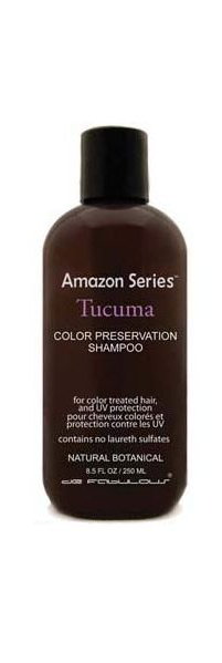 Amazon Series Tucuma Color Preservation Shampoo - 250 ml - Puissant anti-stress cheveux secs et colorés