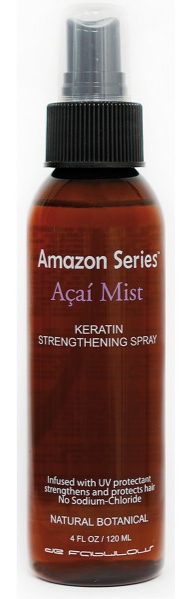 Amazon Series Acai Mist Keratin Strengthening Spray - 120 ml - Spray coiffant kératine brillance et Anti-UV