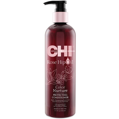 CHI Rose Hip Oil Protecting Conditioner - 340 ml - Eclat et longévité de votre couleur