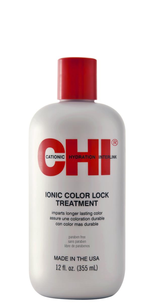 CHI Ionic Color Lock Moisture Treatment - 300 ml - Traitement neutralisant tous résidus chimiques