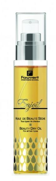 Fauvert - Huile de beauté sèche Enjoïl - 100 ml - Brillance instantanée