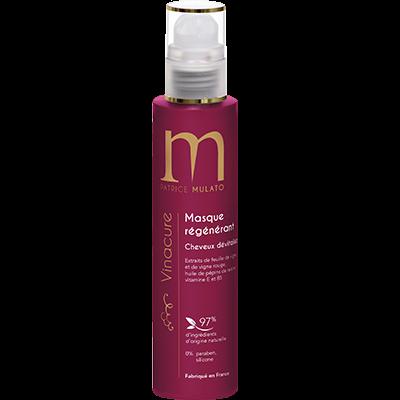 Mulato Vinacure Masque Régénérant - 200 ml - Extraits de feuilles de vigne, cure jeunesse et cheveux dévitalisés