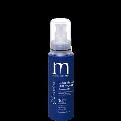 Mulato Flow'Air crème de jour sans rinçage - 125 ml - Soin coiffant A la Fleur de Lotus pour une douceur exceptionnelle