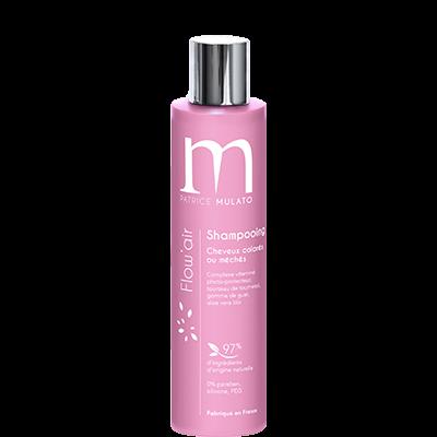 Mulato - Flow'Air - Shampooing cheveux colorés ou méchés - 200 ml -  Eclat Couleur