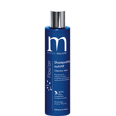 Mulato Flow'Air - 200 ml - Shampooing nutritif cheveux secs phytokératine