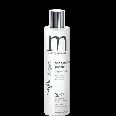 Mulato Argila - 200 ml - Shampooing purifiant Argile Verte cheveux gras