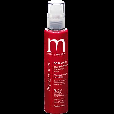 Mulato Soin Repigmentant Rouge de Venise Reflets Acajou Auburn - 200 ml - Réhausse l'éclat des cheveux acajou auburn