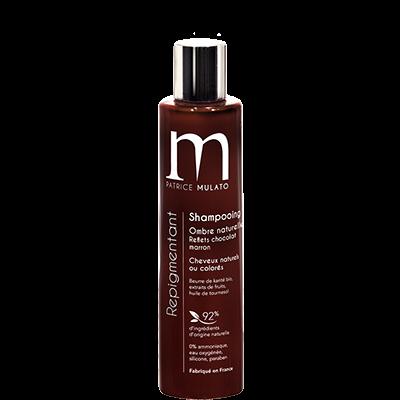 Mulato Shampooing Repigmentant Ombre Naturelle  Reflets Marron (chocolat, caramel) - 200 ml - Ravive toutes vos nuances de marron